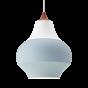 Cirque taklampe ø38 - kobber topp