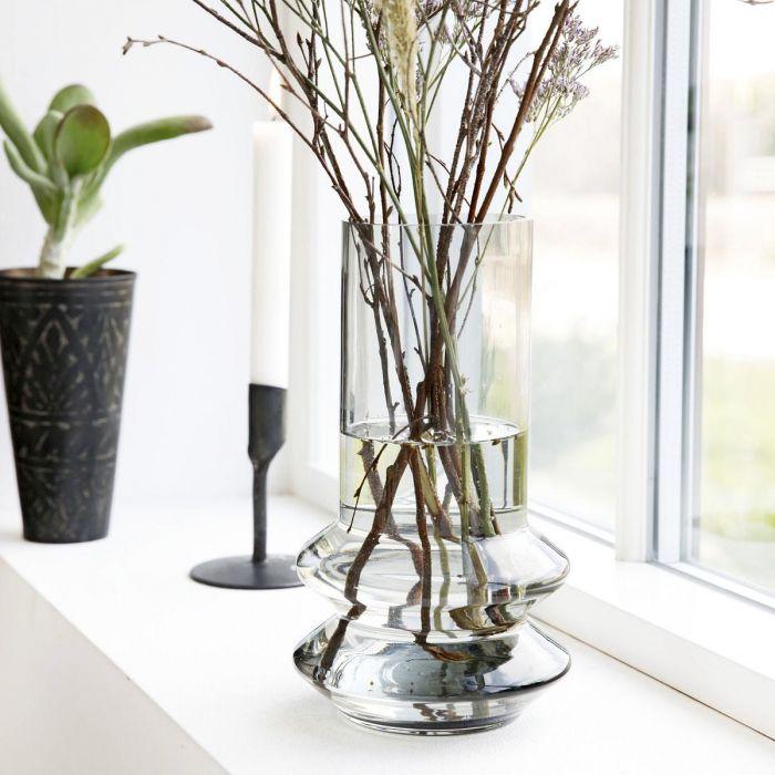 Forms vase - grå