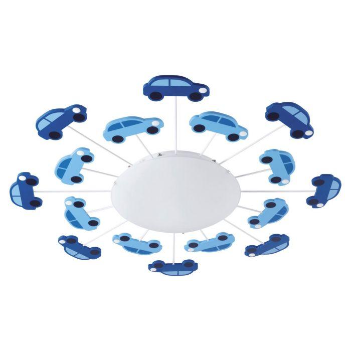 Viki 1 taklampe - blå
