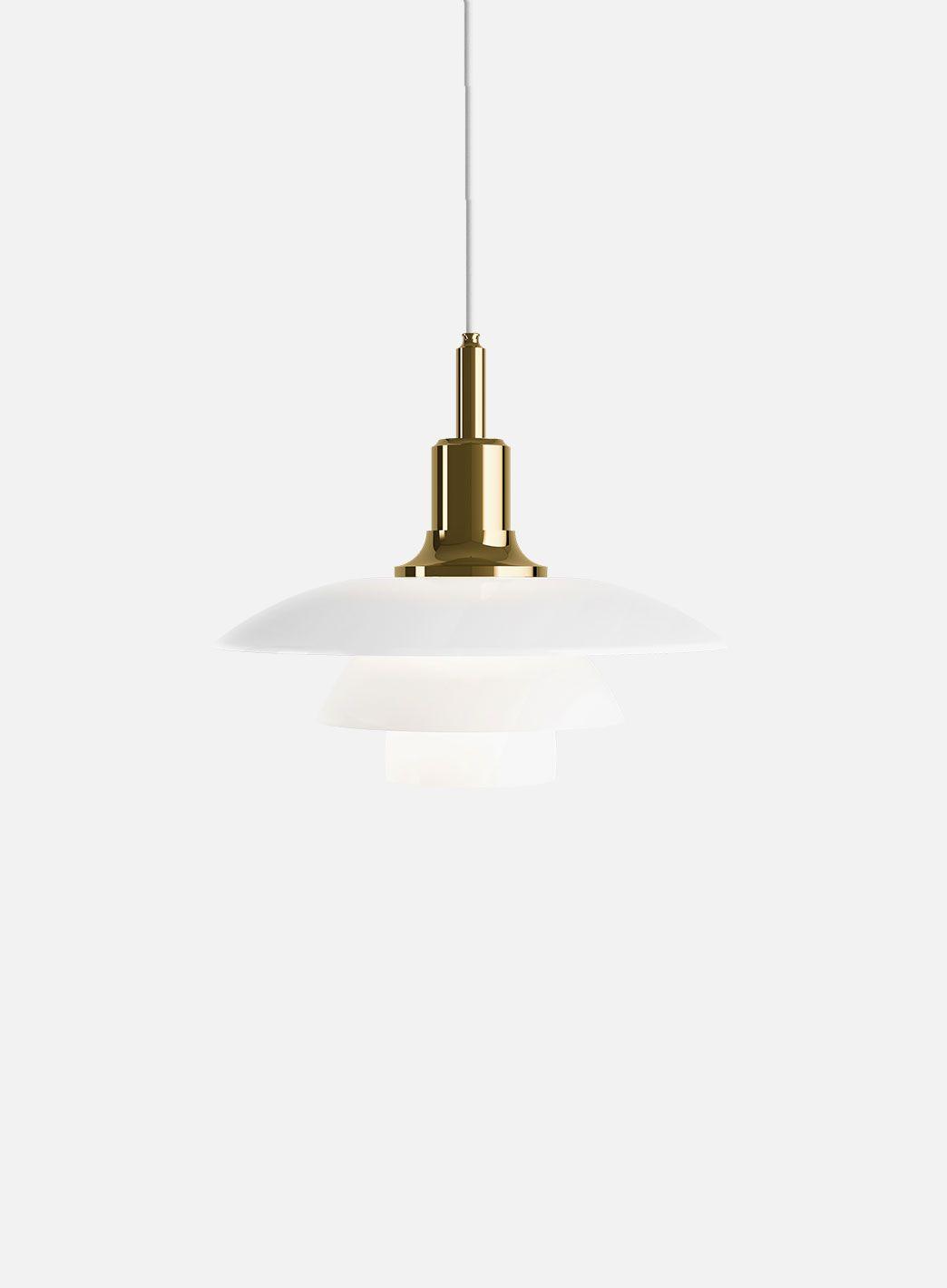 PH 3 12 2 12 bordlampe hvitbrunert