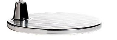Tolomeo base gulvlampe - aluminium