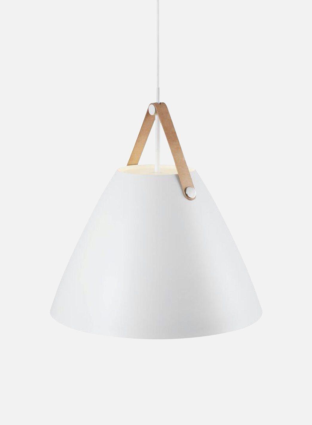 Strap 48 taklampe hvit