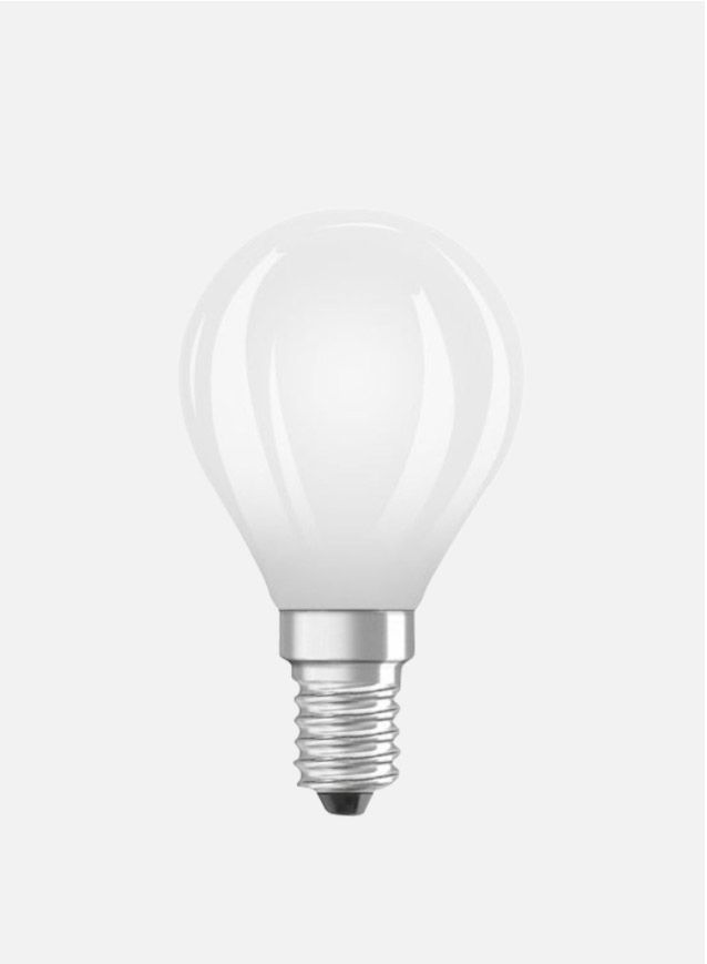 LED-pære Illum E14 6,5W - matt