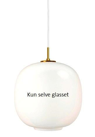 Reserveglass til vl45 radiohus. ø37 - opal
