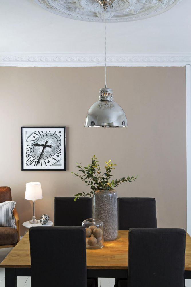 Shirin taklampe - sølv