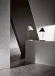 Yuh bordlampe - hvit/marmor