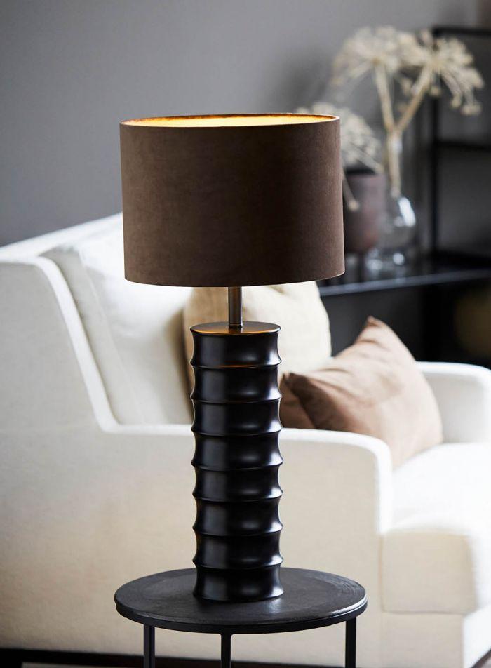 Render bordlampe - sort