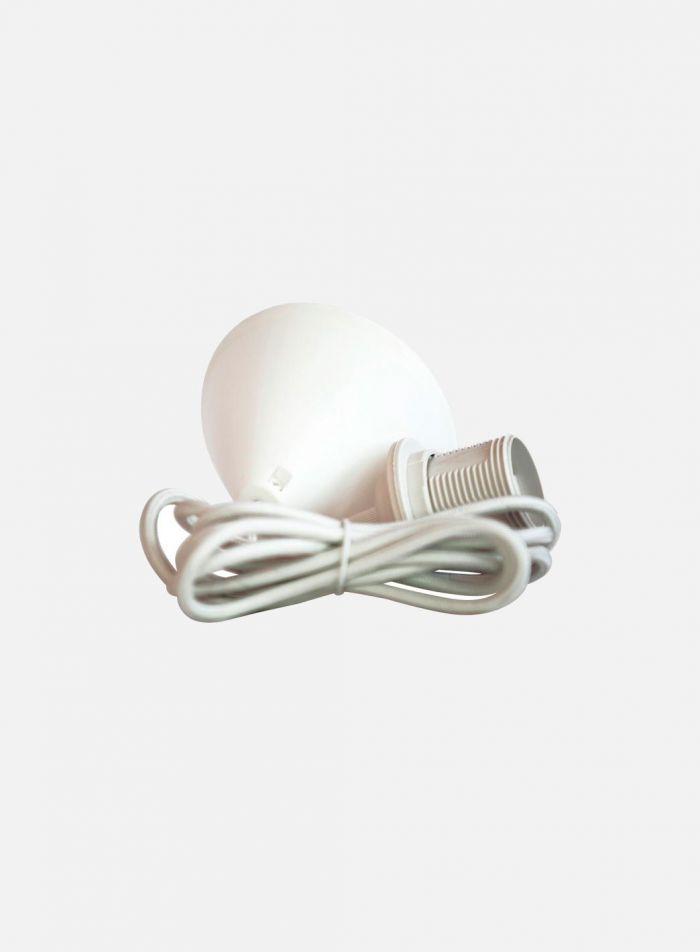 Pendeloppheng - hvit