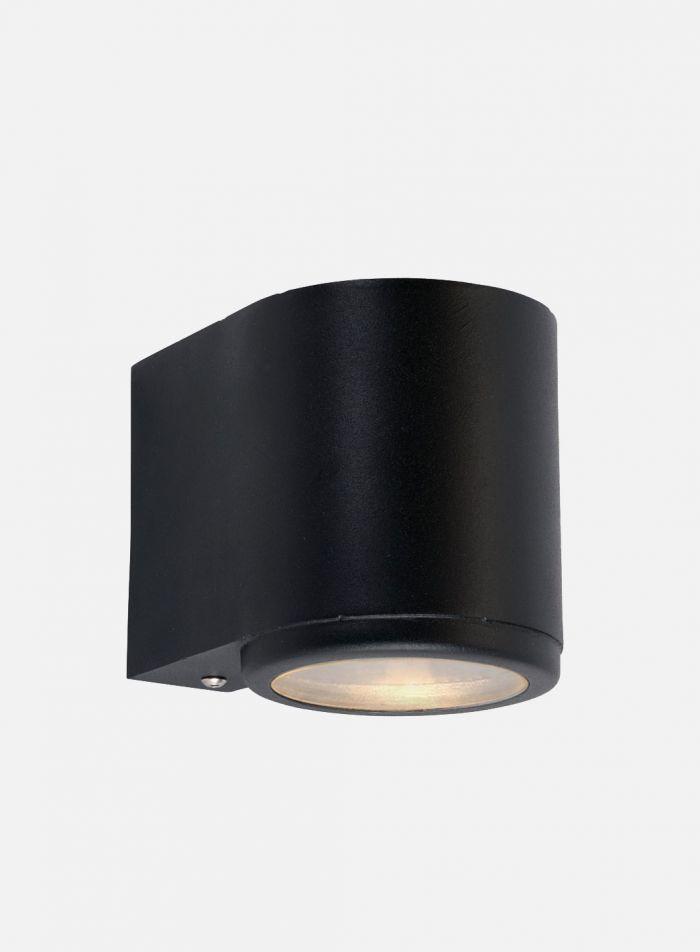 Mandal 1973 utelampe - sort