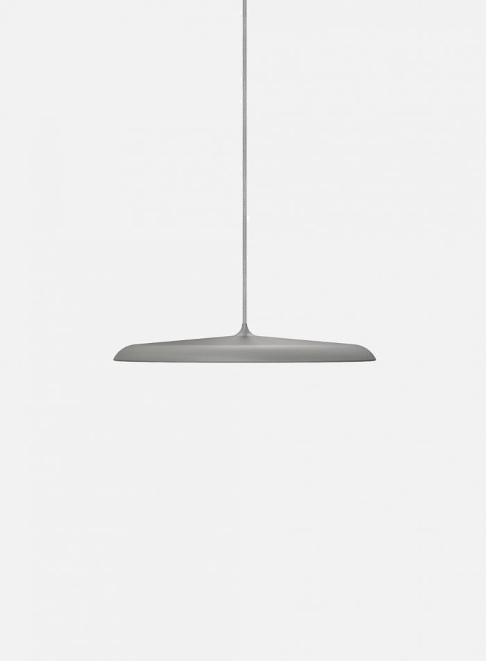 Artist taklampe Ø25 - grå