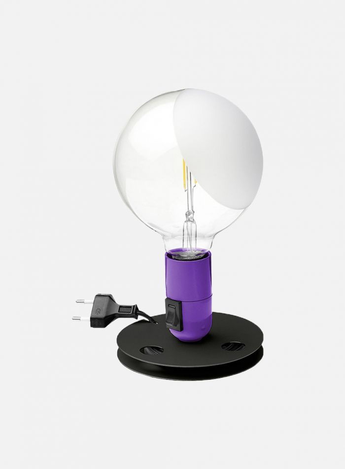 Lampadina bordlampe - lilla