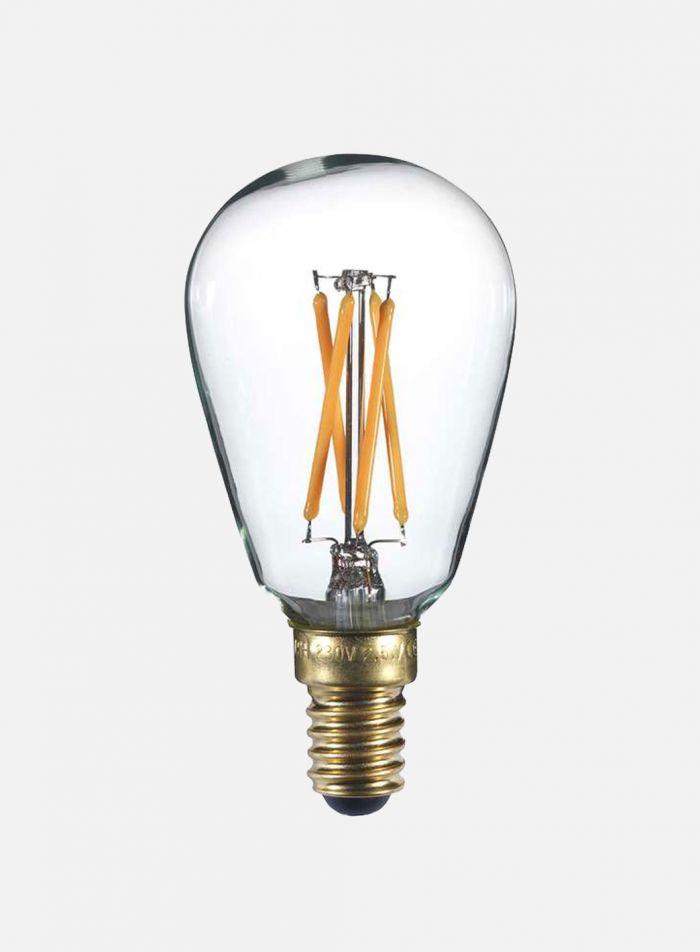 LED-pære Edison E14 2,5W 4-stavs