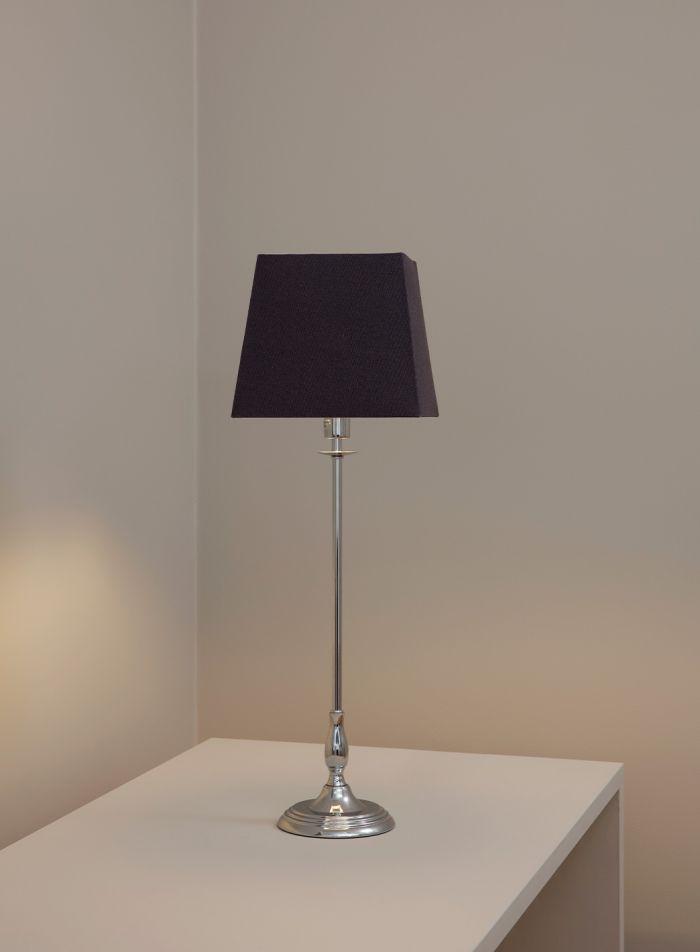 Ecco-2 bordlampe - krom