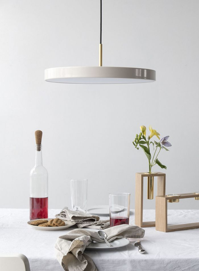 Asteria taklampe Ø43 - perlemor
