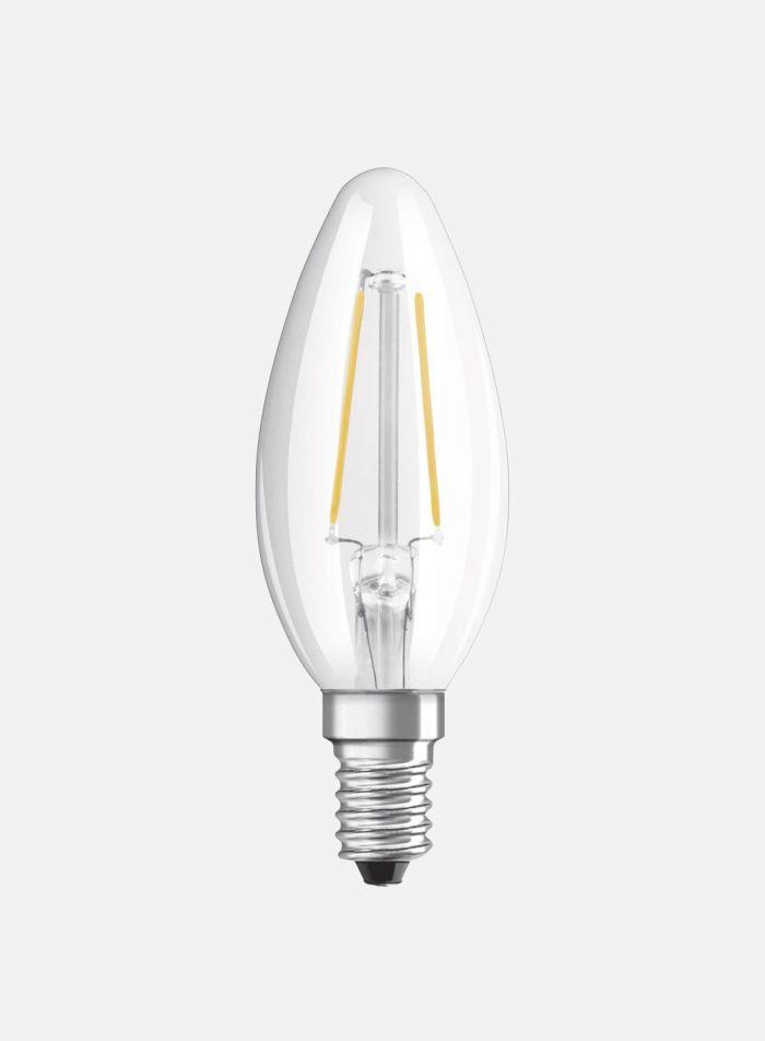 LED-pære Mignon E14 2,8W ikke-dimbar