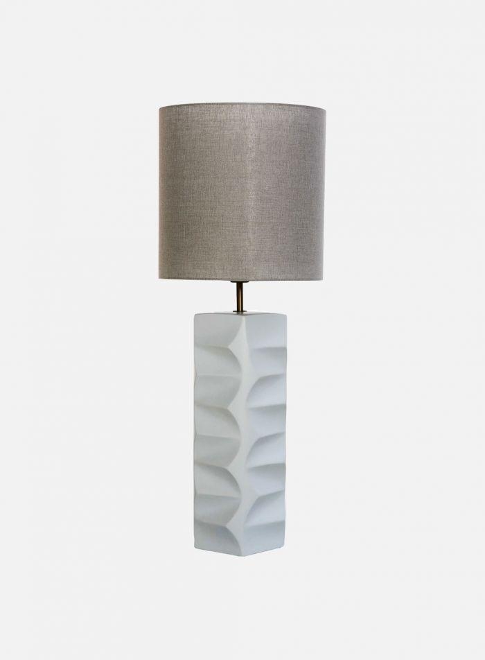 Tower bordlampe - hvit