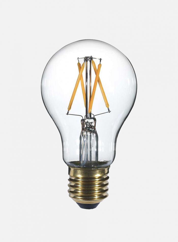 LED-pære Normalfasong E27 4W 4-stavs