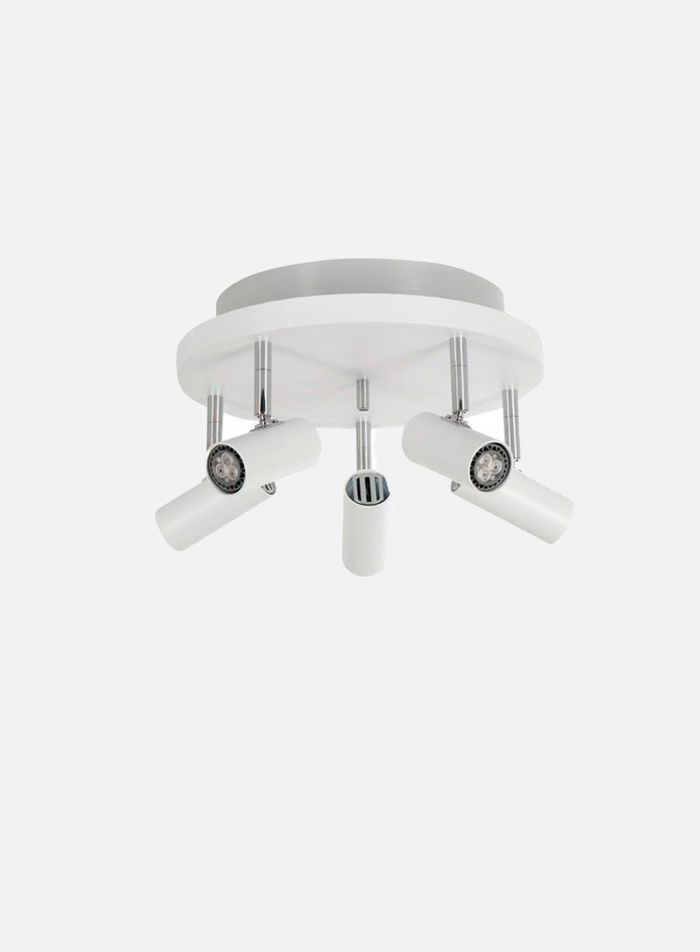 Cato LED takspot 5 opplys - matt hvit