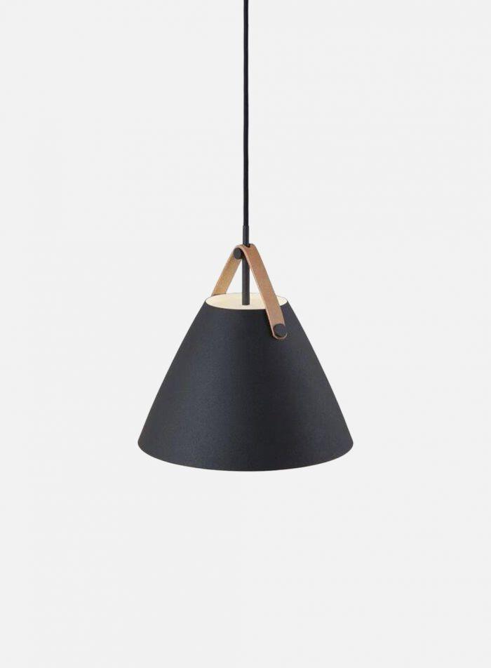 Strap 27 taklampe Ø27 - sort