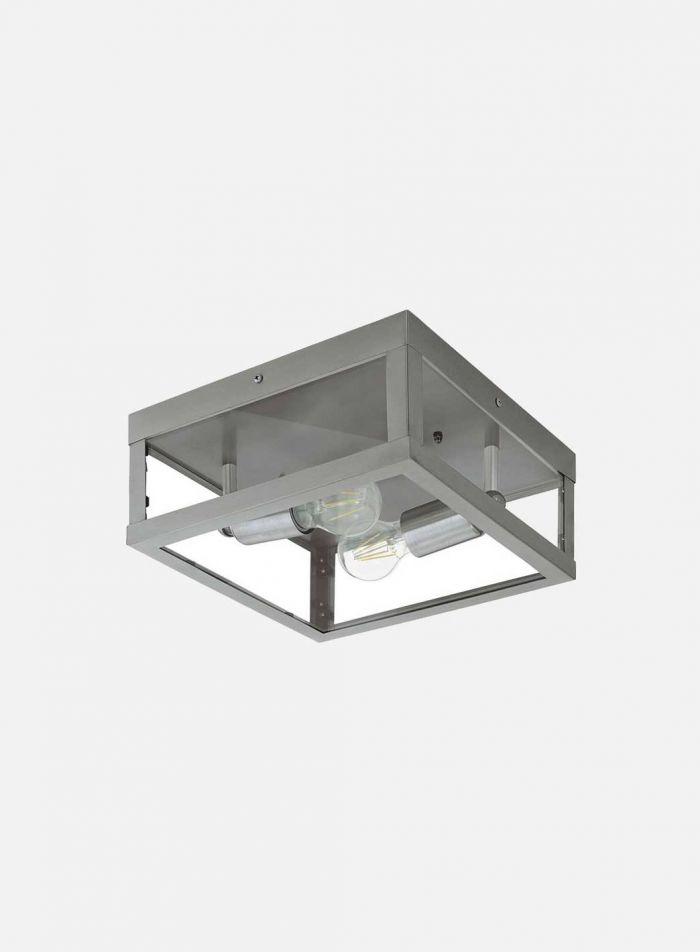 Alamonte utelampe plafond - stål