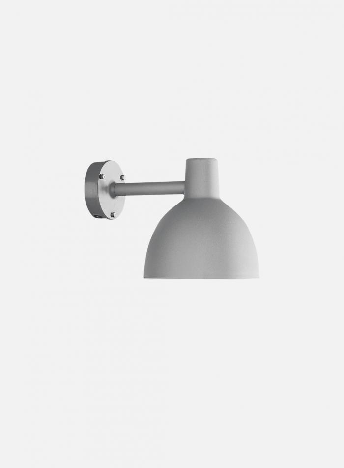 Toldbod 220 utelampe vegg - aluminium