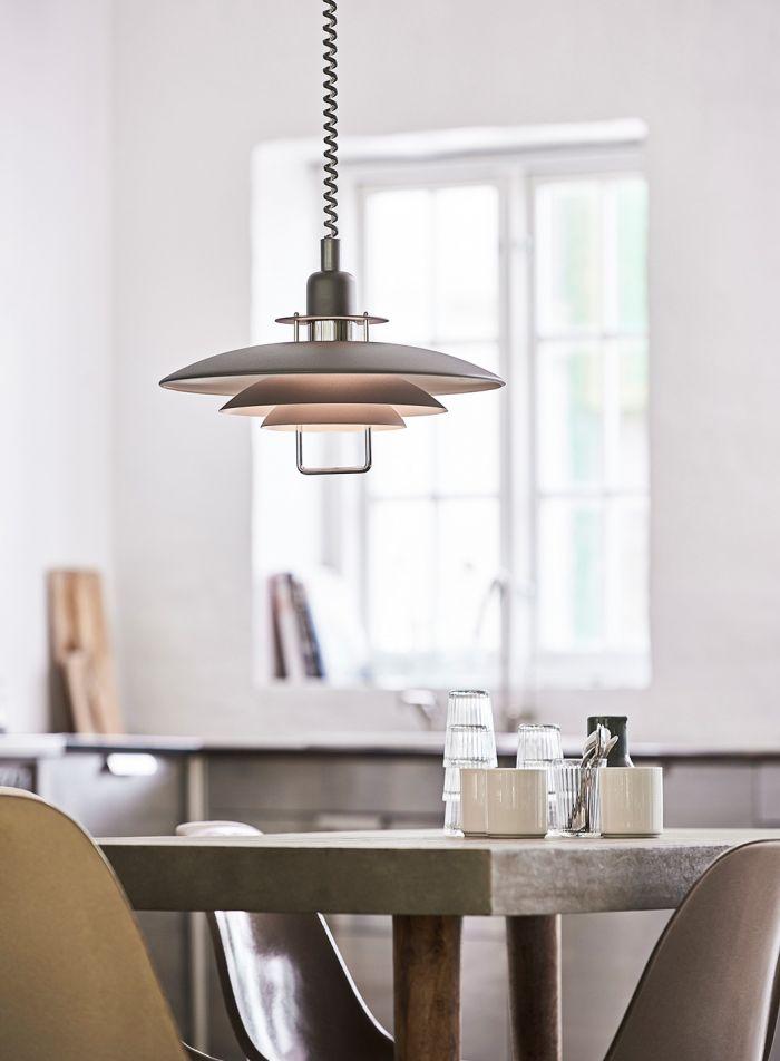 Primus II taklampe - grå