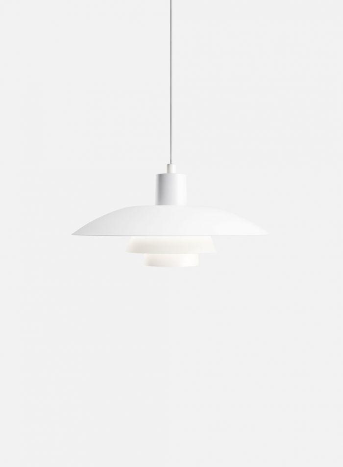 PH 4/3 taklampe - hvit