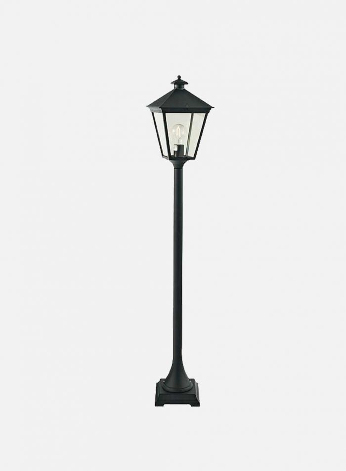 London 485 utelampe - sort