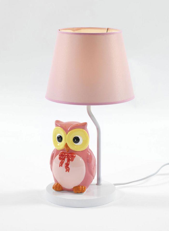 Ugle bordlampe - multi