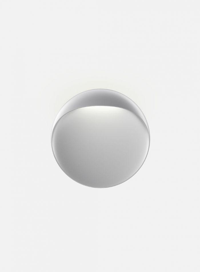 Flindt utelampe Ø30 cm - aluminium