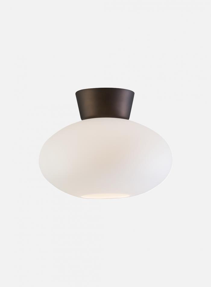 Bullo taklampe - oxid/opal