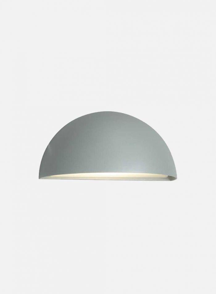 Halden 517 utelampe - aluminium