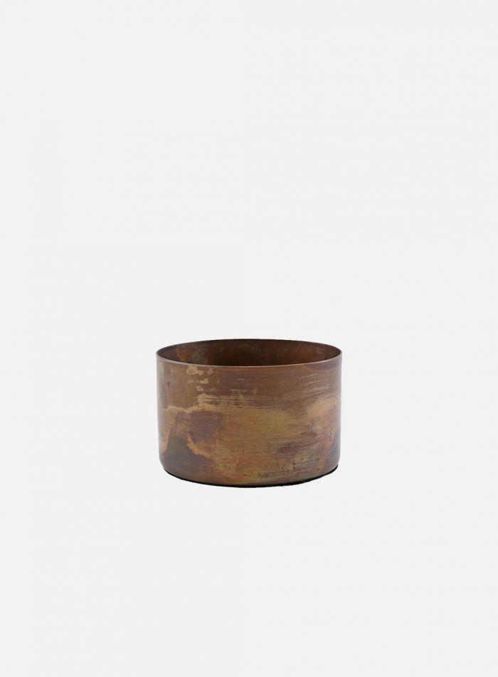 Define lysholder - antikk kobber