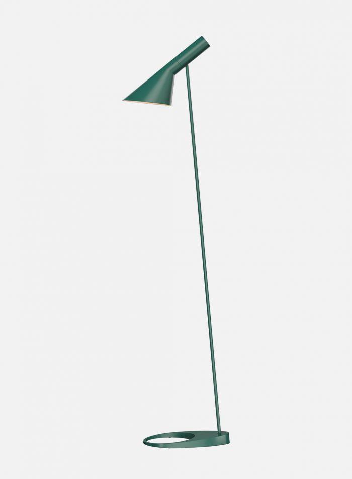 AJ gulvlampe - mørk grønn