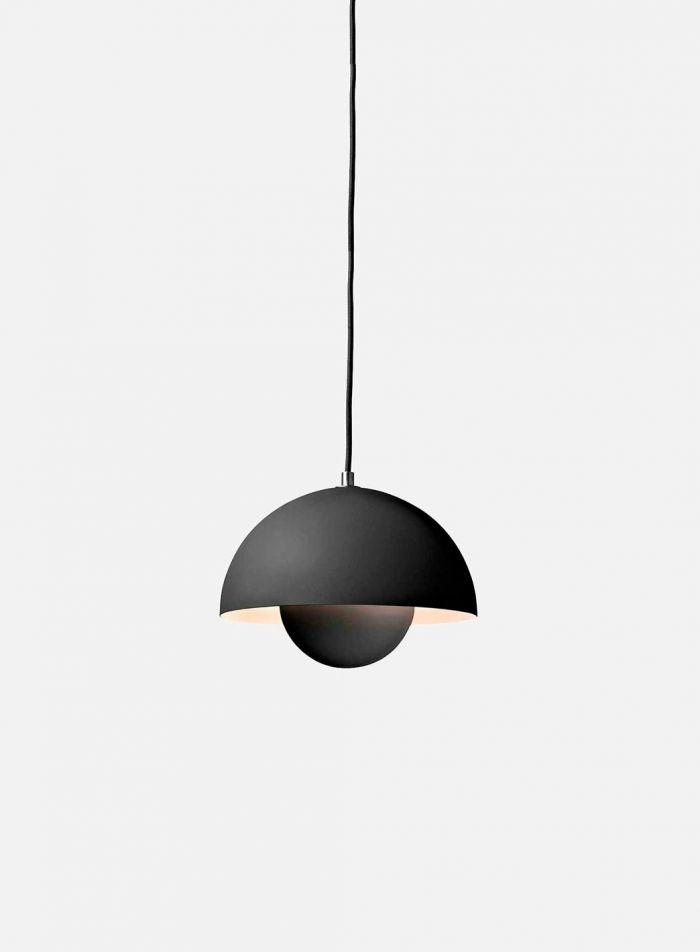 Flowerpot VP1 taklampe - matt mørkegrå