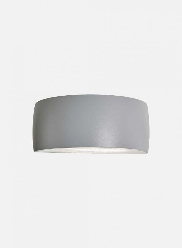 Vasa 127 utelampe - aluminium
