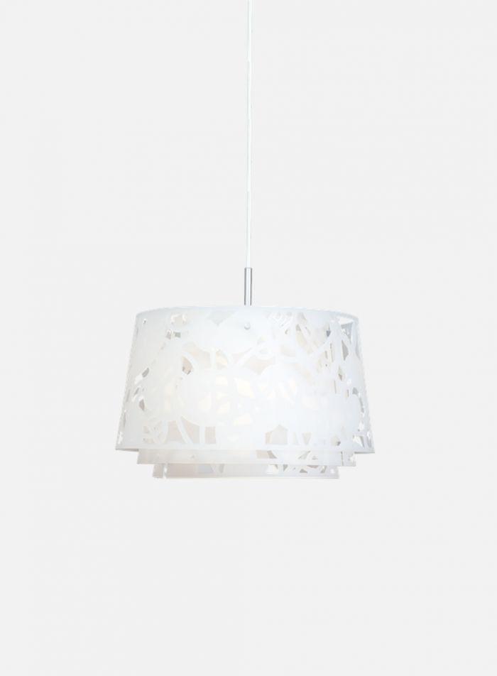 Collage 450 taklampe - hvit