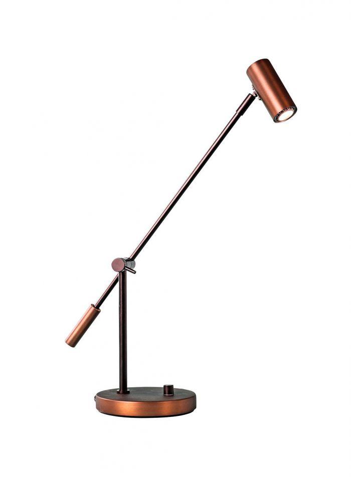 Cato LED bordlampe - oxid