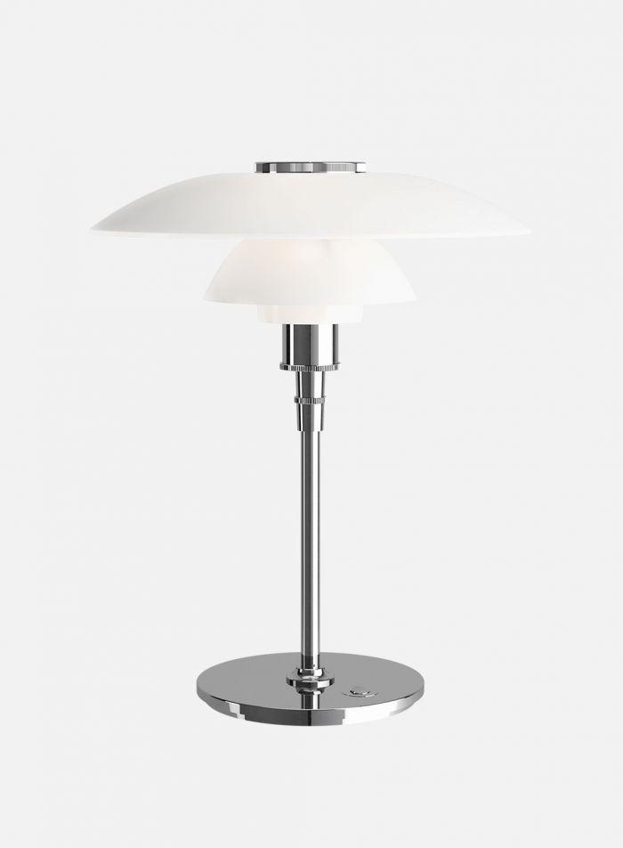 PH 4 1/2-3 1/2 bordlampe - opal