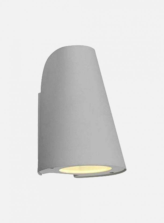 Knaus utelampe - hvit