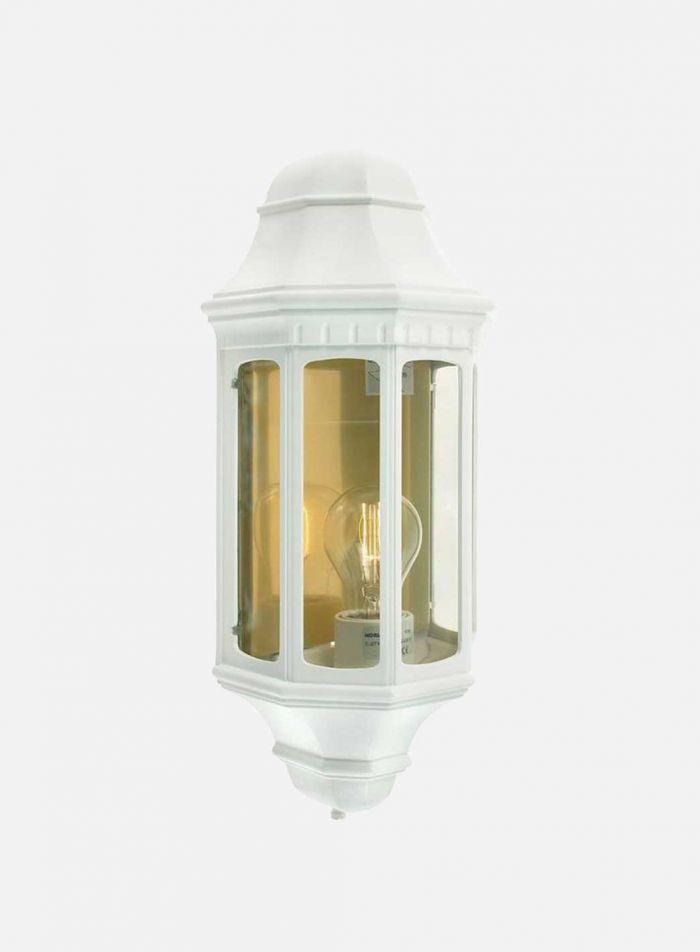 Genova 170 utelampe - hvit