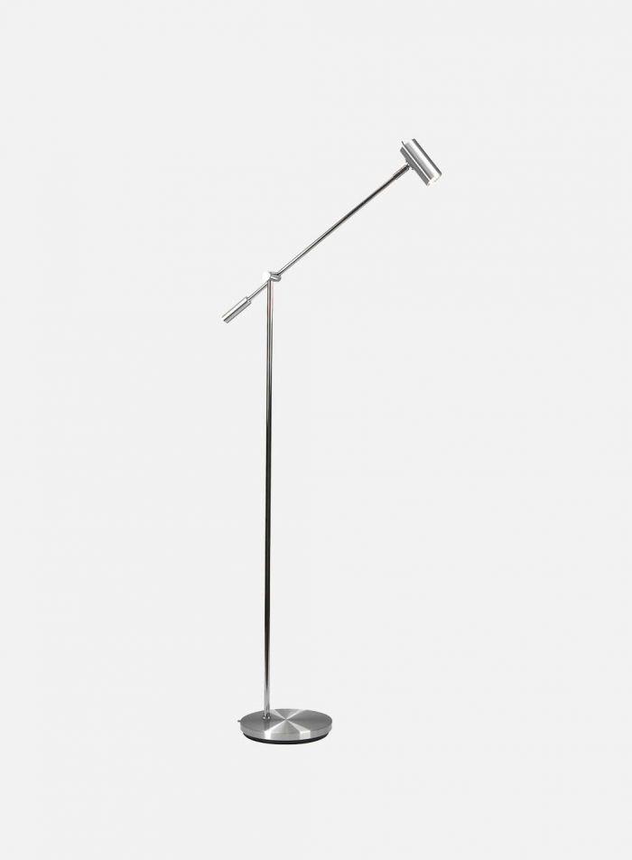 Cato LED gulvlampe dimmer - aluminium