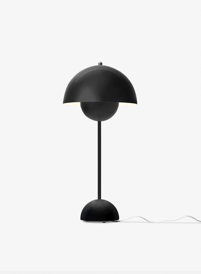 Flowerpot VP3 bordlampe - matt sort
