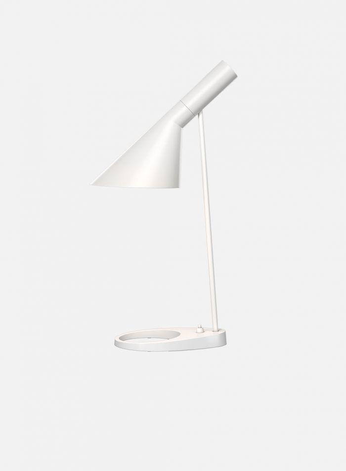 AJ bordlampe - hvit