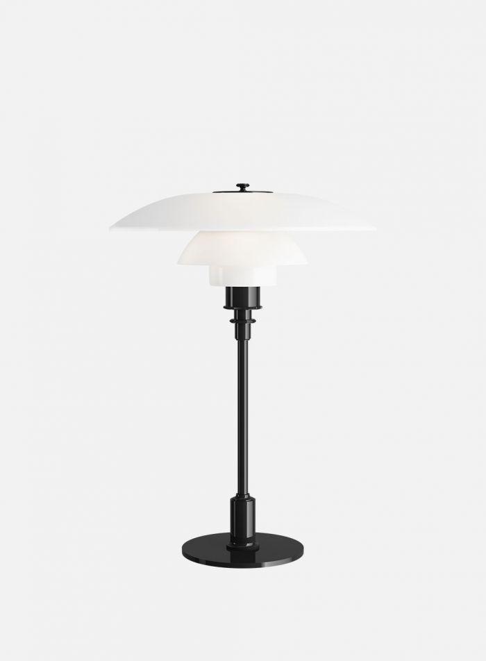 PH 3/2 bordlampe - blank sort/opal
