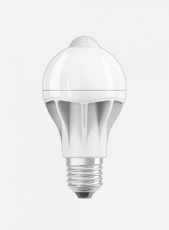 LED-sensorpære bevegelse E27 9W