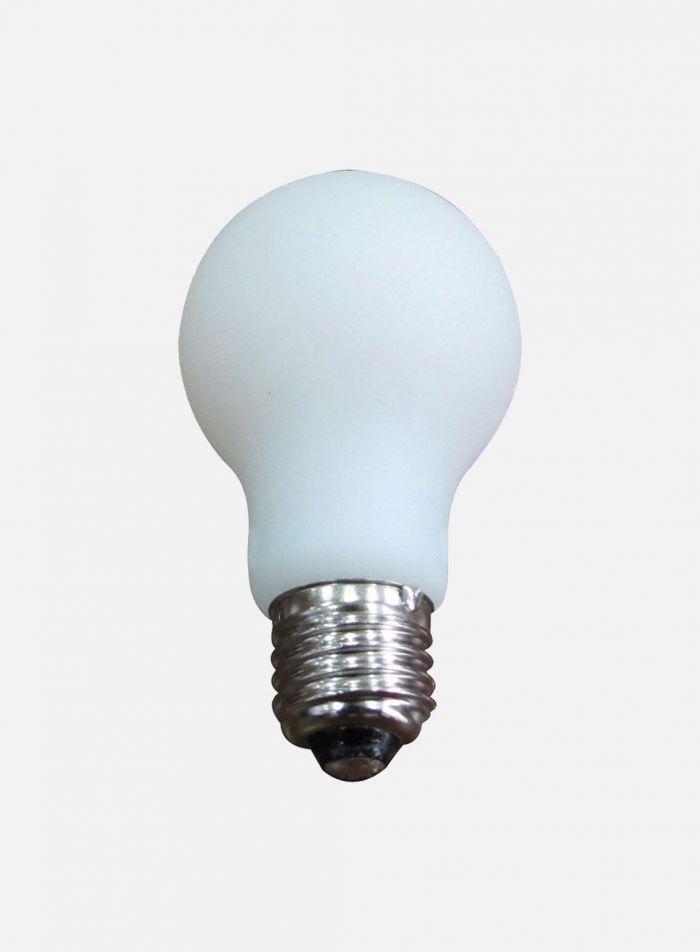 LED-pære Normalfasong E27 5W - opal