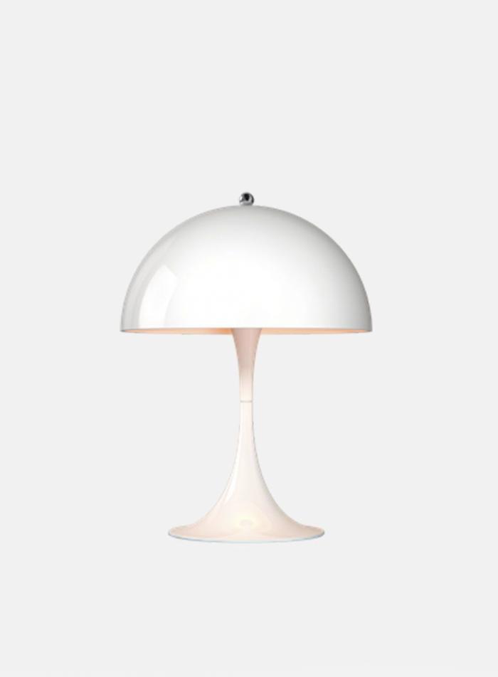 Panthella mini bordlampe - hvit