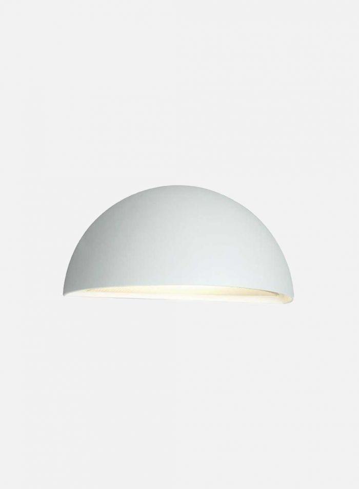 Halden 515 utelampe - hvit