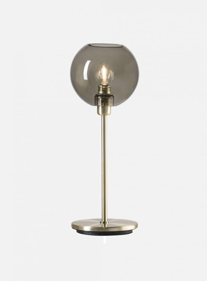 Gloria bordlampe - oxid/røk